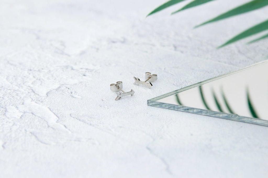 KUKU LDN Arrow Earrings