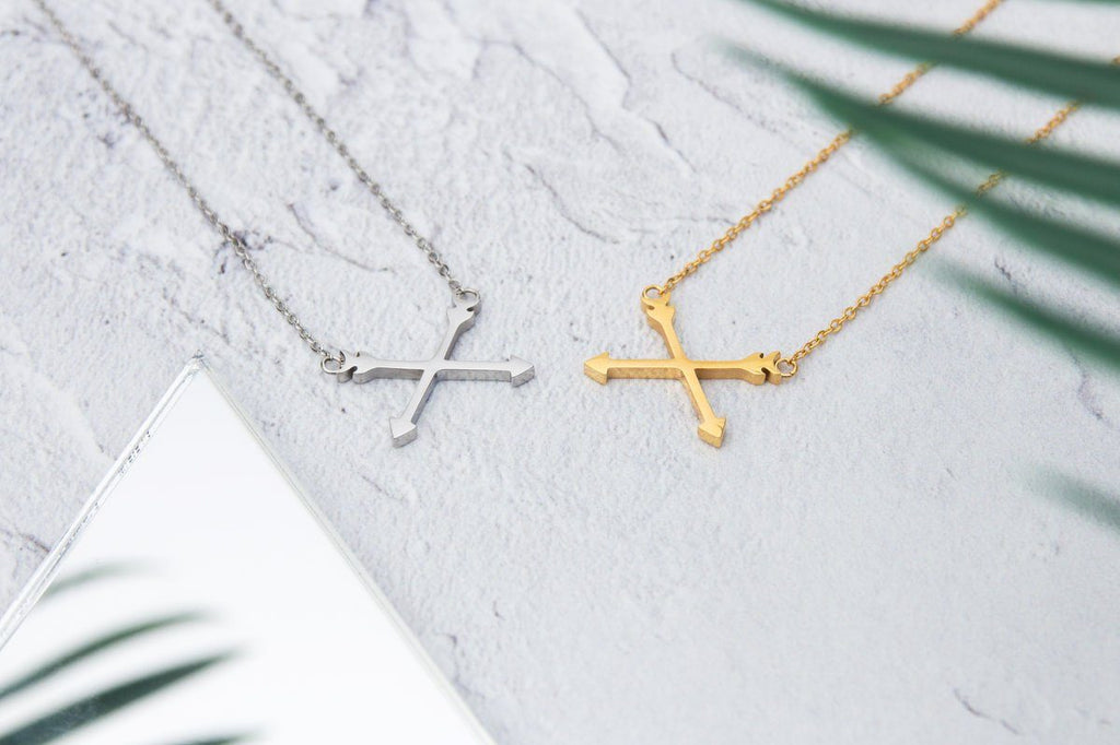 KUKU LDN Arrow Necklace