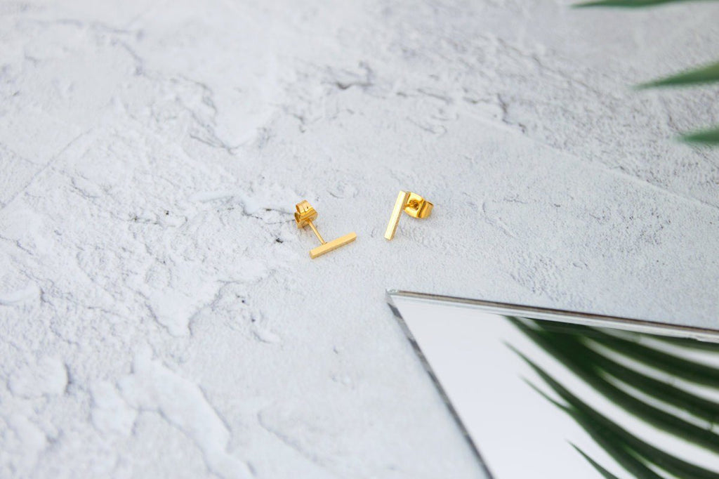 KUKU LDN Bar Earrings