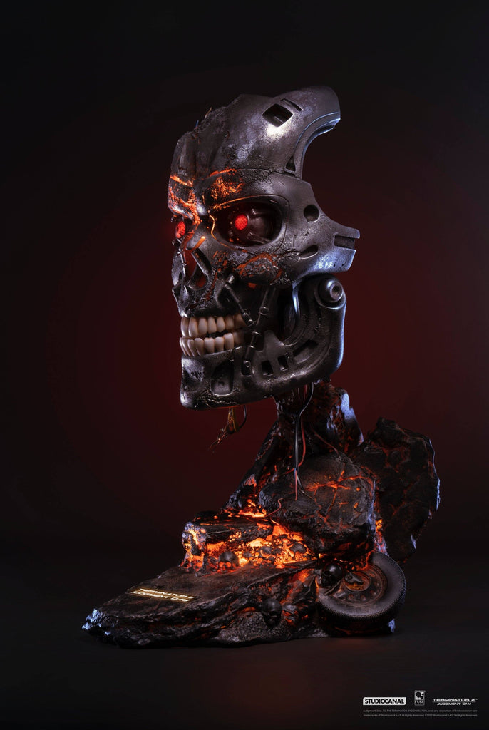 PREORDER - PUREARTS Terminator 2: T-800 - Battle Damaged Edition Art Mask