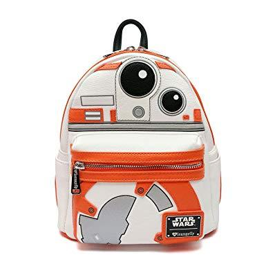 LOUNGEFLY Star Wars BB-8 Applique Mini-Backpack