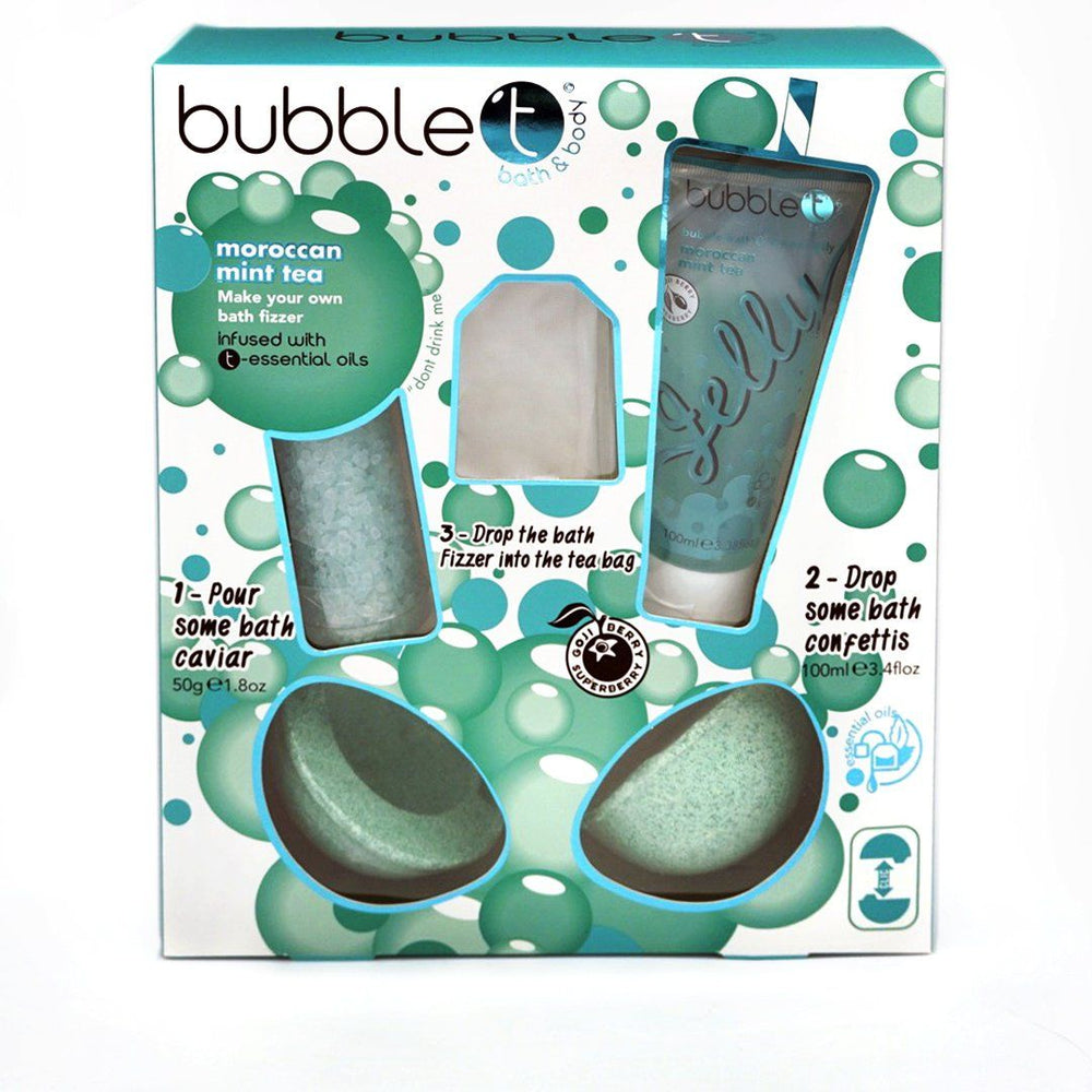 BUBBLE T Make Your Own Bath Bomb
