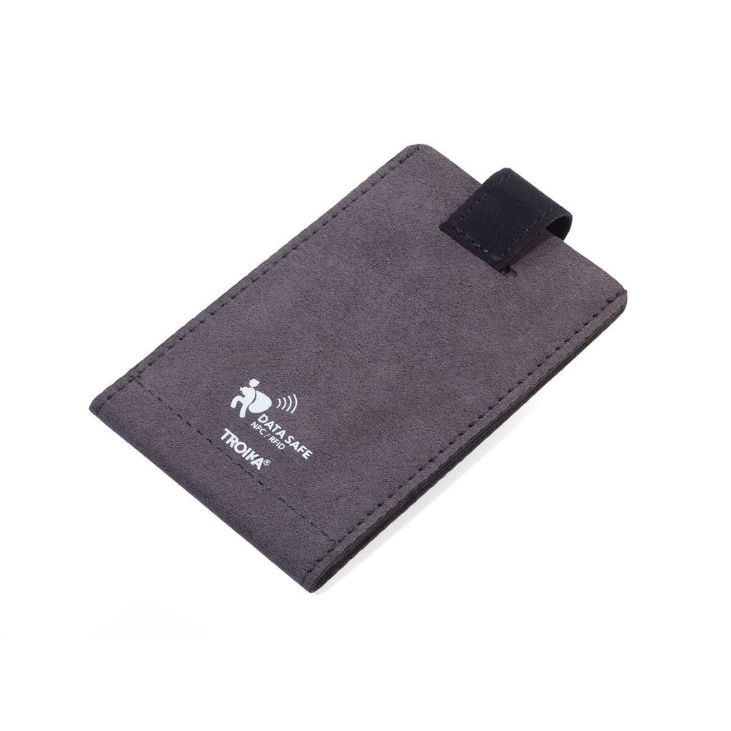 TROIKA SLIM VELVET WALLET WITH RFID PROTECTION