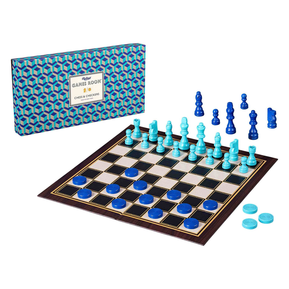 RIDLEY'S GAMES  Chess & Checkers