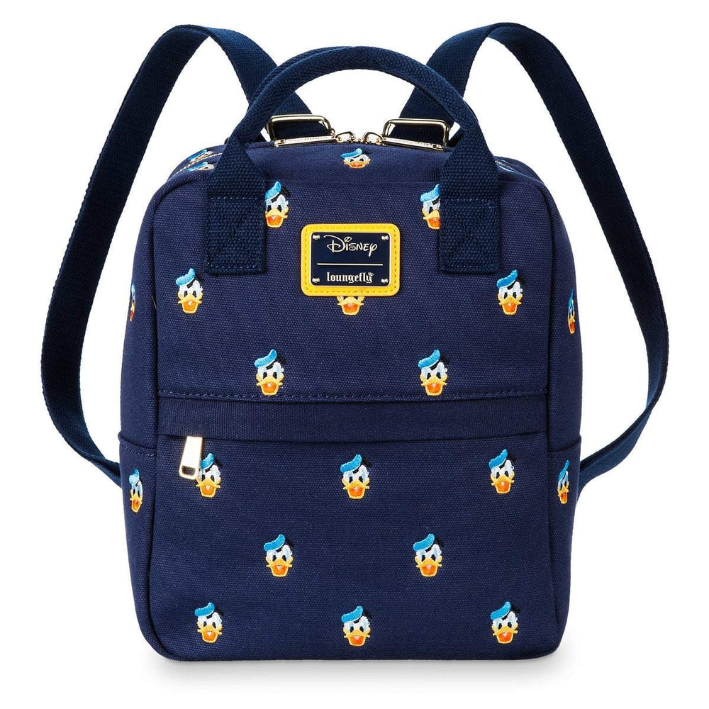 LOUNGEFLY Donald Duck AOP Mini Backpack