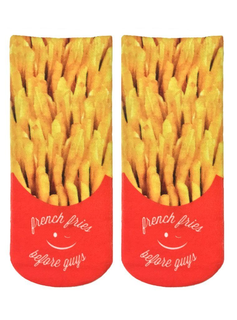 LIVING ROYAL Fries Before Guys Ankle Socks