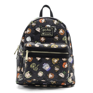 Loungefly x Harry Potter Chibi Character Print Mini Backpack