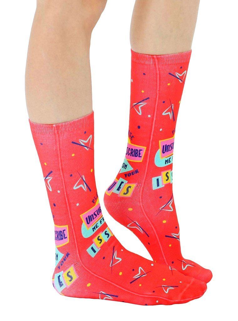 LIVING ROYAL Issues Crew Socks