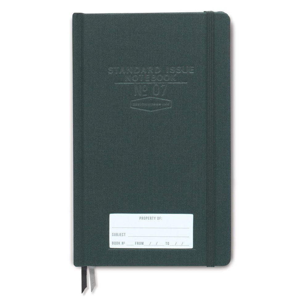 DESIGNWORKS INK Green Standard Issue Notebook