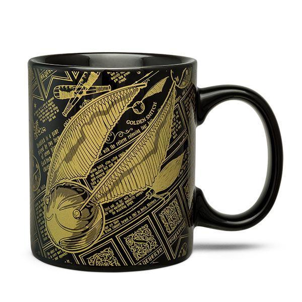 HARRY POTTER Golden Snitch Mug