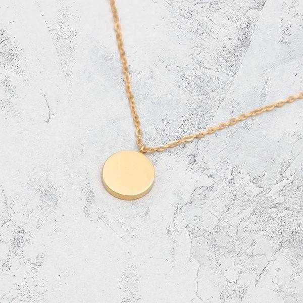 KUKU LDN Circle Necklace