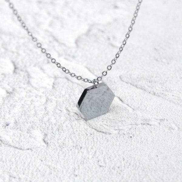 KUKU LDN Hexagon Necklace