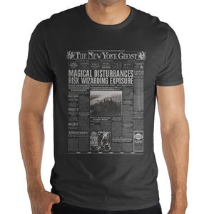 FANTASTIC BEASTS Newspaper Print Tee