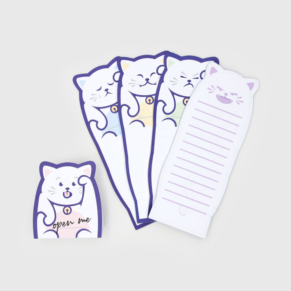 SUCKUK Lucky Cat Message Pad