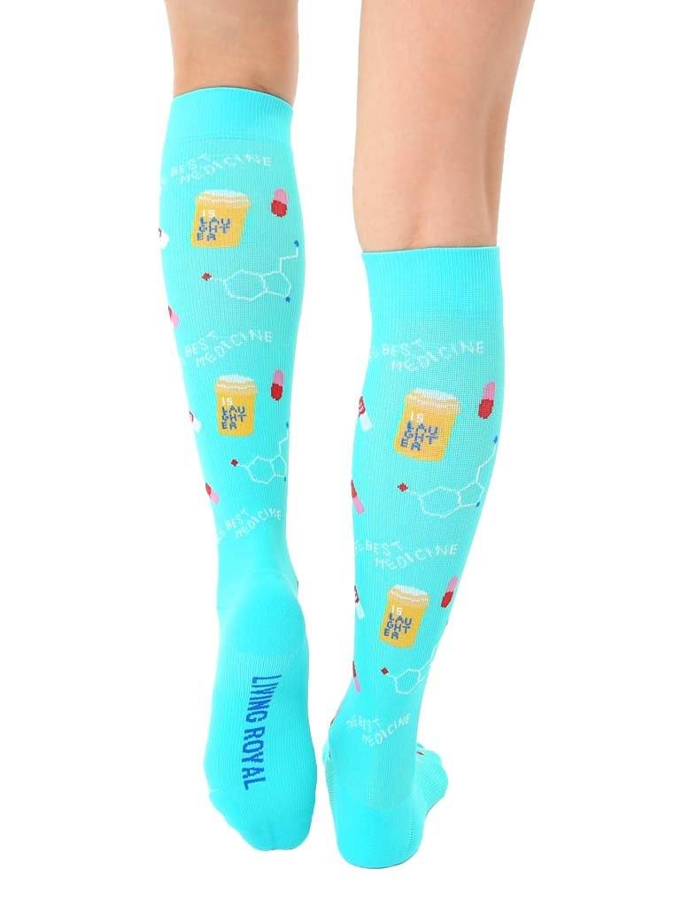 LIVING ROYAL Nurse Compression Socks