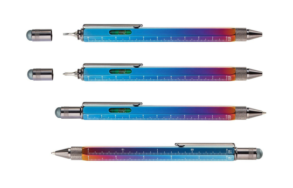 TROIKA Multitasking Ballpoint Pen Construction Spectrum