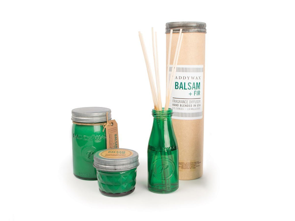 PADDYWAX Relish Jar Candle- Balsam + Fir