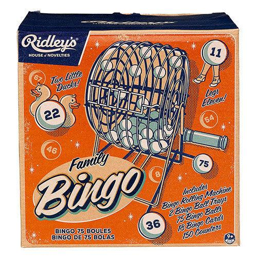 RIDLEYS GAMES Classic Bingo Game