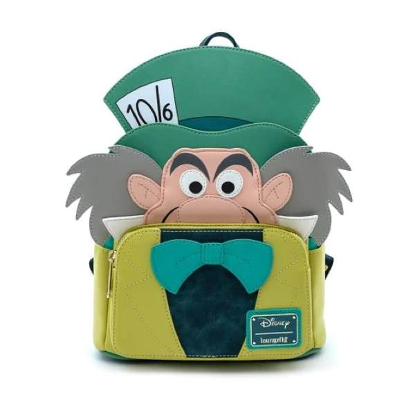 LOUNGEFLY Disney Mad Hatter Mini Backpack