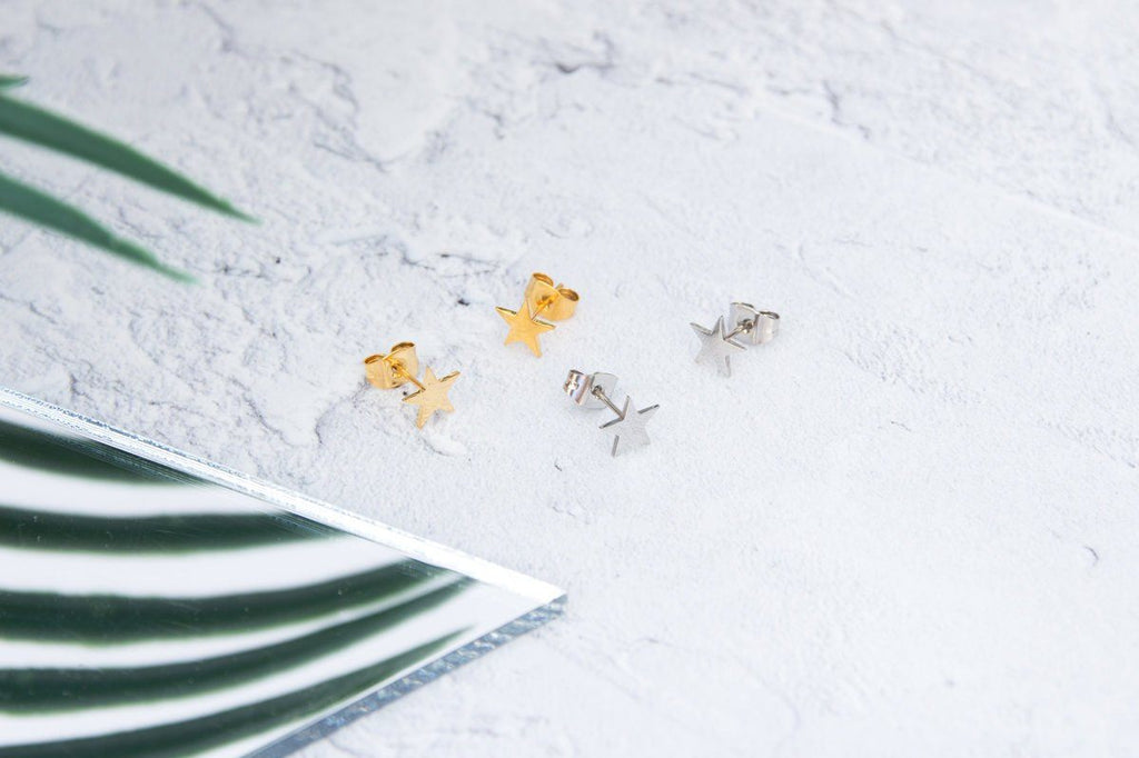 KUKU LDN Star Earrings