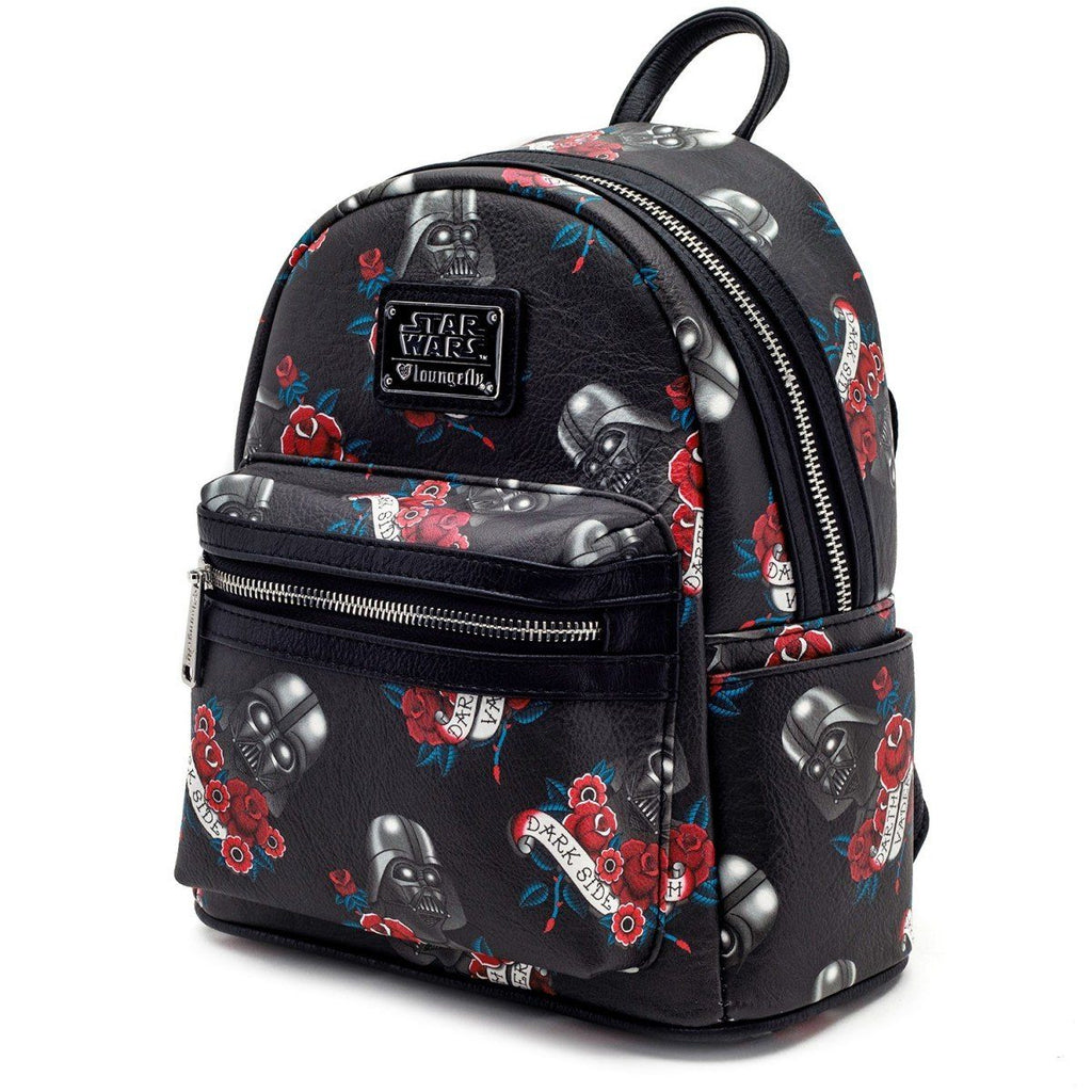 LOUNGEFLY Star Wars Darth Vader Mini Backpack