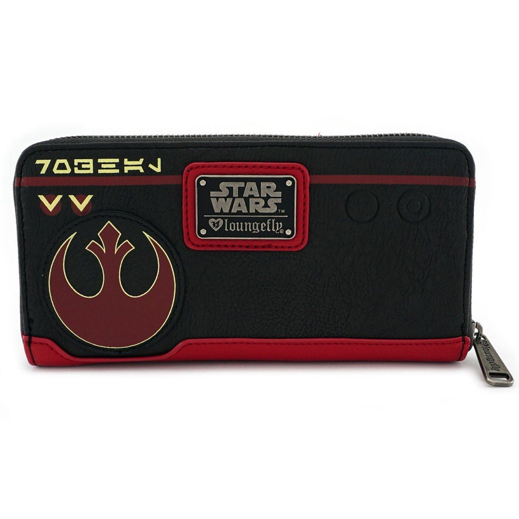 LOUNGEFLY Star Wars: The Last Jedi Poe Dameron Wallet