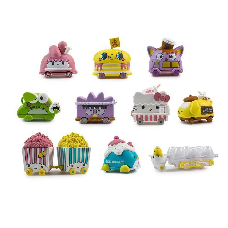 KIDROBOT x Hello Sanrio Micro Vehicle Series - Blind Box