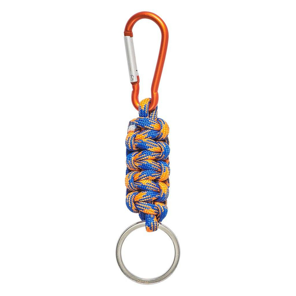 WILD + WOLF Urban Keychain - Blue/Orange