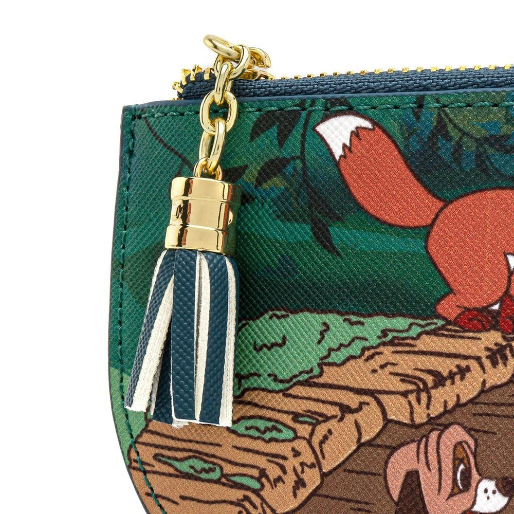 LOUNGEFLY x Disney The Fox And The Hound Peek A Boo Cardholder