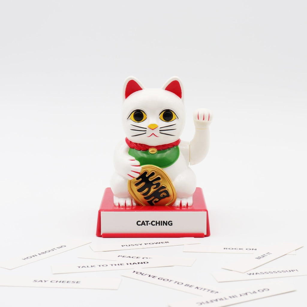 LOCOMOCEAN CATTITUDE - LUCKY CAT WITH INTERCHANGEABLE HANDS