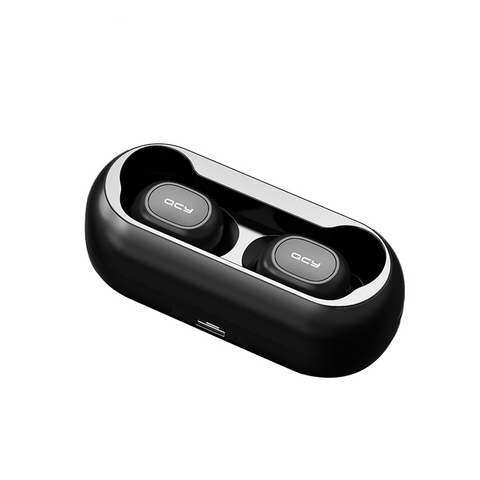 QCY Bluetooth Earphones & Charging Box