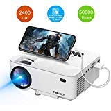 TOPVISION 2400Lux Projector with Synchronize Smart Phone Screen