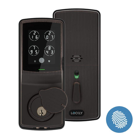 Lockly Bluetooth Keyless Entry Smart Door Lock