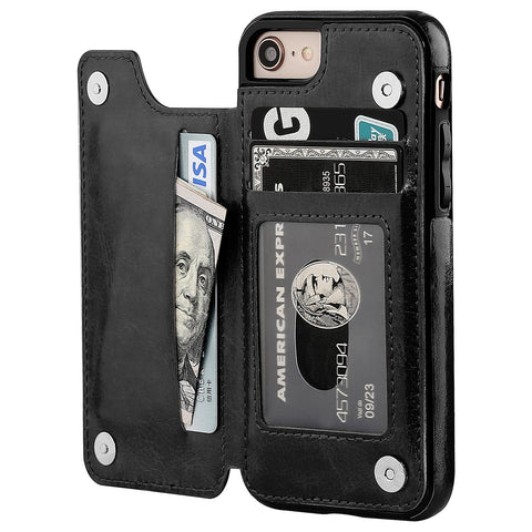 OneTop iPhone 8 Wallet Case with Card Holder