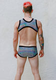 Black Hologram Harness