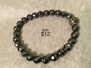 Various grey men/unisex bracelets. Note: You will not be able to add to cart. Please contact me for ways to order.  Press 1st pic to reveal arrow or swipe to the right or upward to see more bracelets.