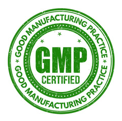 Naturally Peaked Only Uses GMP Standards