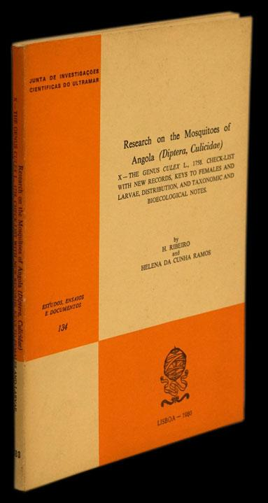 RESEARCH ON THE MOSQUITOES OF ANGOLA - Loja da In-Libris