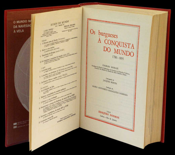 RUMOS DO MUNDO — XII — OS BURGUESES À CONQUISTA DO MUNDO - Loja da In-Libris