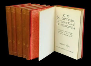 Actas do congresso internacional de etnografia