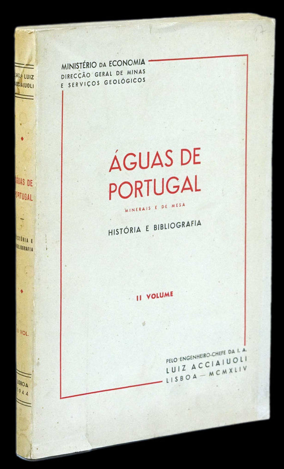 ÁGUAS DE PORTUGAL (2º Vol.)