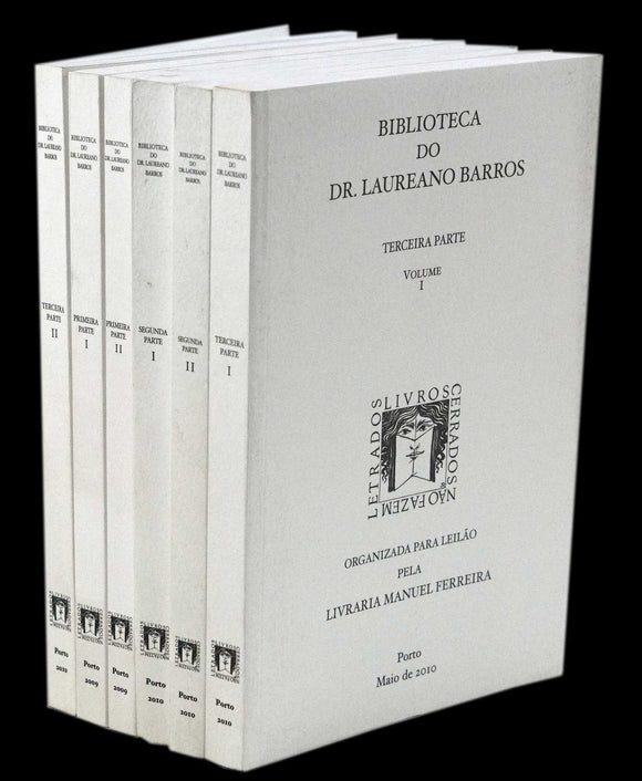BIBLIOTECA DO DR. LAUREANO BARROS - Loja da In-Libris