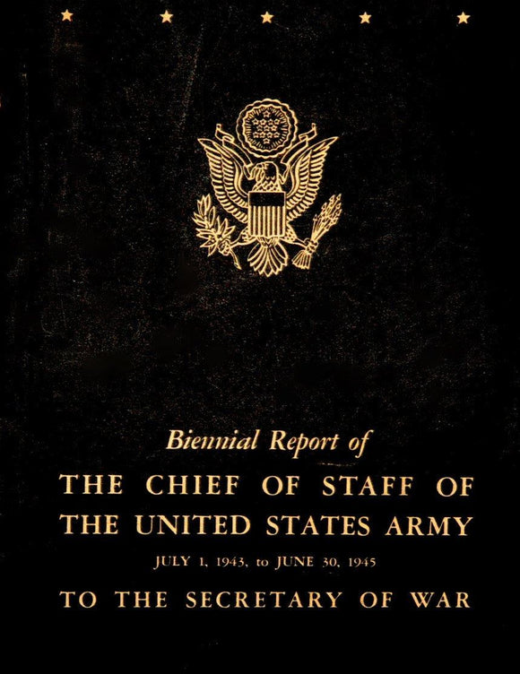 Livro - BIENNIAL REPORT OF THE CHIEF OF STAFF OF THE UNITED STATES ARMY