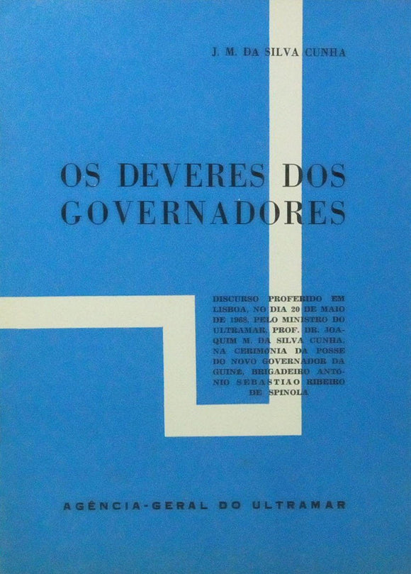 DEVERES DOS GOVERNADORES (OS)