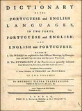 Livro - DICTIONARY OF THE PORTUGUESE AND ENGLISH LANGUAGES