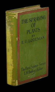 Livro - SPRAYING OF PLANTS (THE)