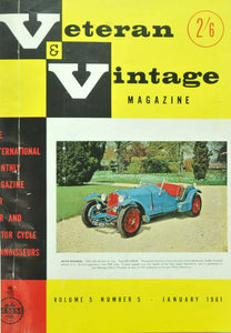 Livro - VETERAN AND VINTAGE MAGAZINE (THE) (VOL. V)