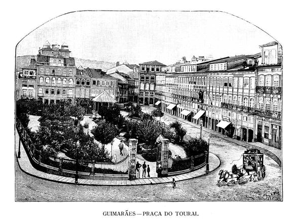 (GUIMARAES) Praça-do-Toural