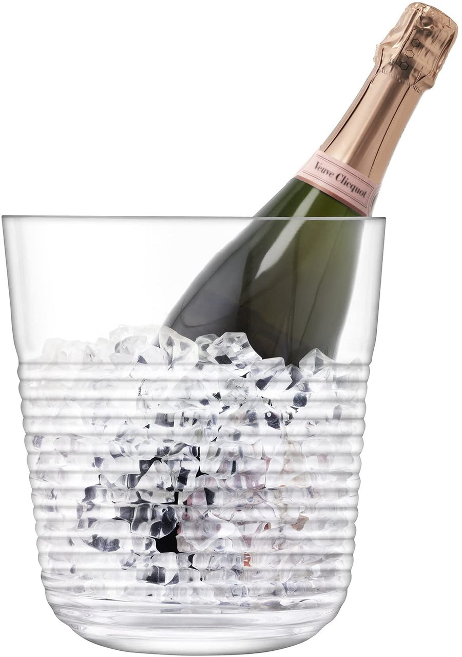 LSA International Groove Champagne Bucket - 22cm