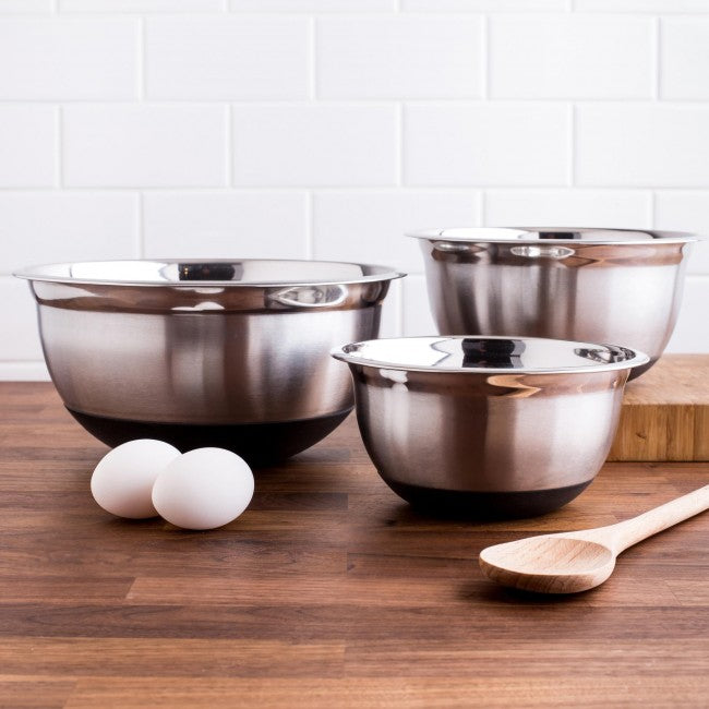 Pro Chef Non-Skid Mixing Bowls - Set of 3